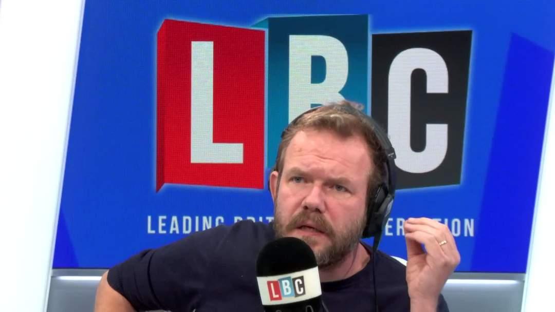 James O'Brien Powerfully Hits Back At Texter Who Calls Him 'Patronising' And 'Sarcastic'