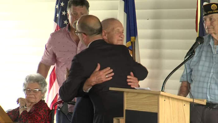 WWII Veteran honored for service