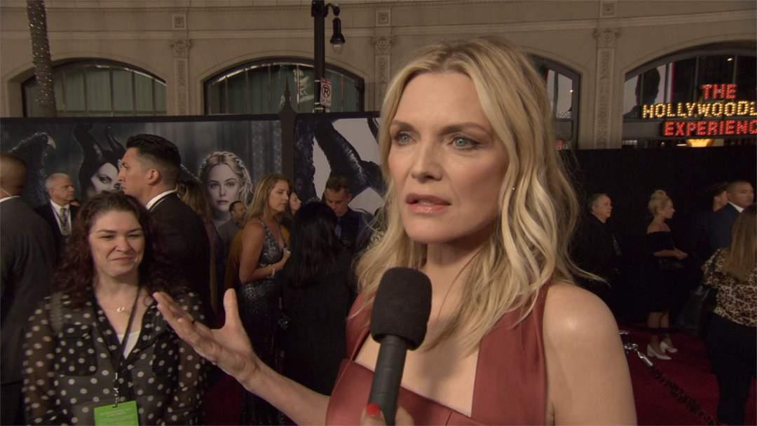 Maleficent Mistress Of Evil Premiere Michelle Pfeiffer