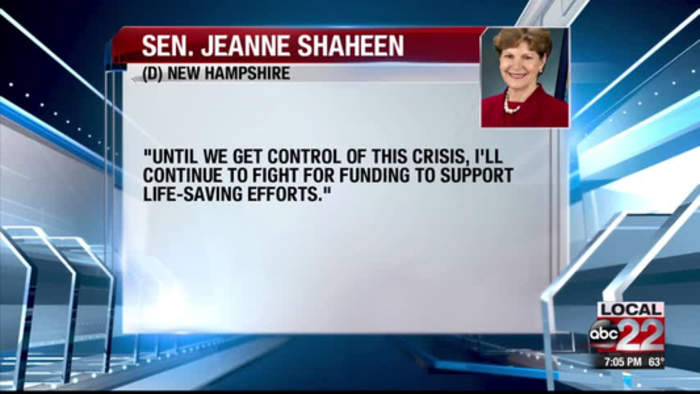 NH Senator Shaeen fighting for funding against opioid abuse