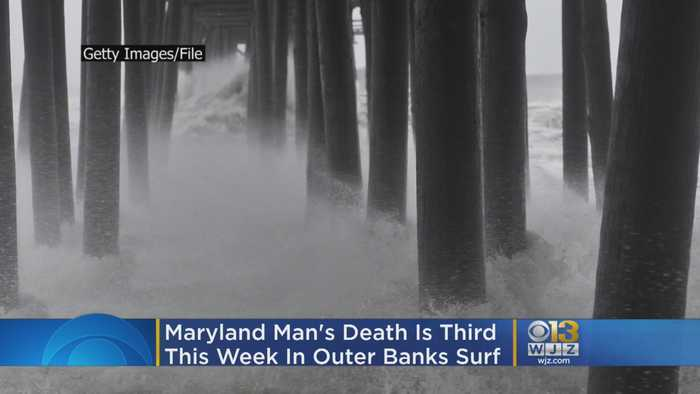 Maryland Man's Death Is Third This Week In Outer Banks Surf