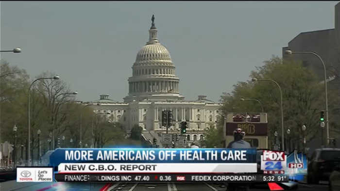 CBO Report on Healthcare Bill