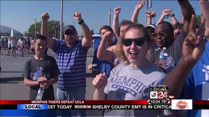 Memphis Tigers Beat Ranked Team At Liberty Bowl