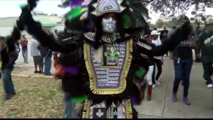 Mardi Gras Indians Lafayette