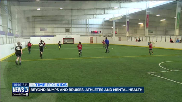 Beyond bumps and bruises: How sports can change an athlete's experience with mental health