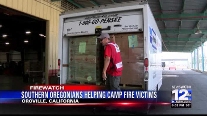 Grants Pass Man Brings Help to Camp Fire Victims