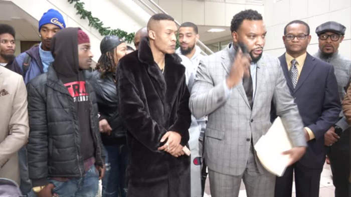 Charles Toney attorney press conference