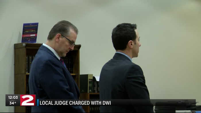 Herkimer judge pleads guilty to DWAI after drunk driving crash