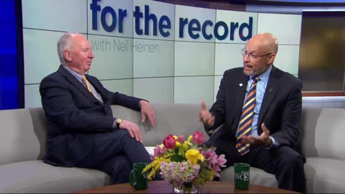 For the Record: UW-Platteville Chancellor Dennis J. Shields