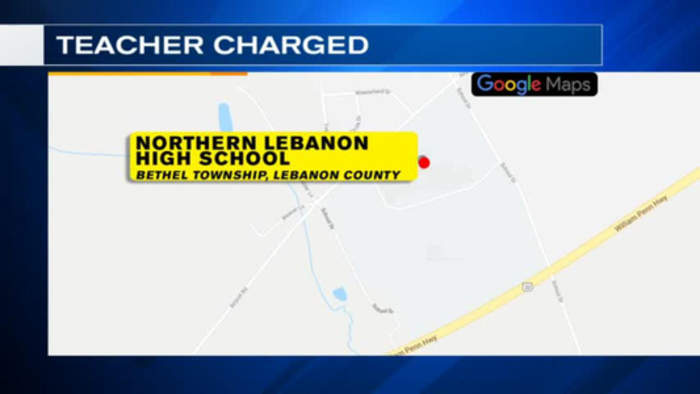 VIDEO: Teacher from Berks accused of unlawful contact with student
