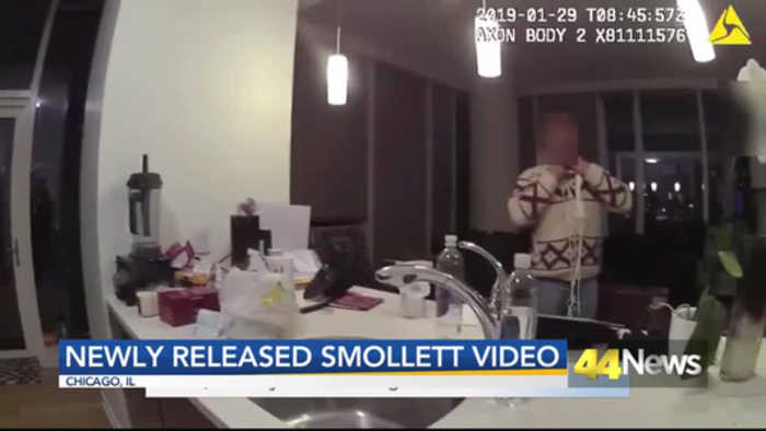 Chicago Police Release  Video of Jussie Smollett With Noose Around His Neck