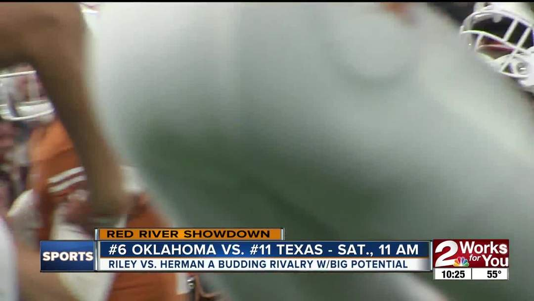 Lincoln Riley, Tom Herman to square off for fourth time as Head Coaches in Oklahoma-Texas Rivalry