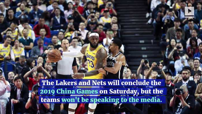 NBA Will Not Have Media Availability For Remainder of China Trip