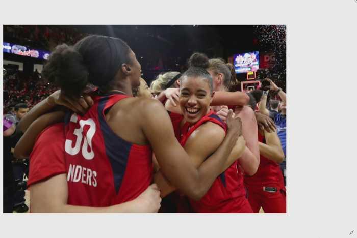 Delle Donne, Washington Mystics Win First WNBA Title