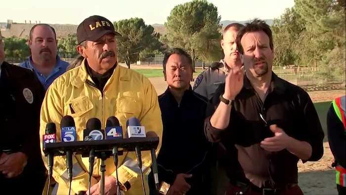 Massive CA wildfire 'zero percent contained'