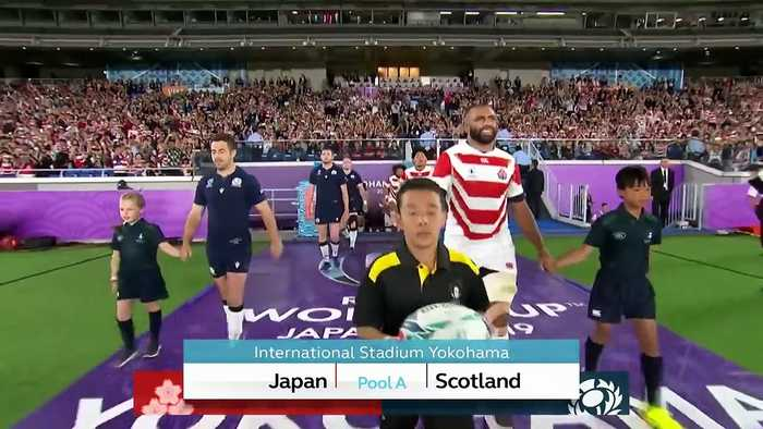 Highlights: Japan v Scotland