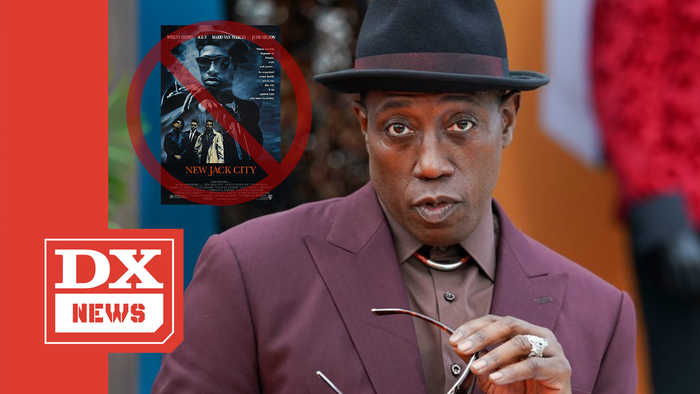 Wesley Snipes Not Feeling Idea Of