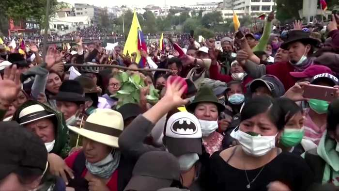 Ecuador's capital rocked by clashes