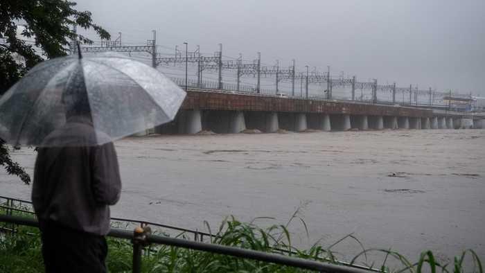 Millions Evacuate As Typhoon Strikes Japan, Causing Injury and Death