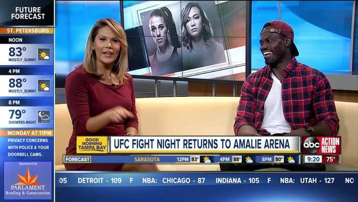UFC Fight Night returns to Tampa after hiatus