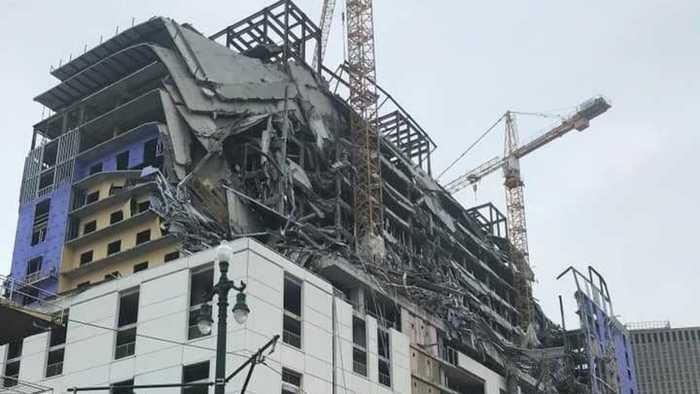 2 Dead In New Orleans Hard Rock Hotel Collapse, 1 Person Still Missing