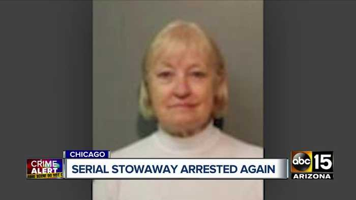 Serial stowaway, Marilyn Hartman, arrested at Chicago airport again