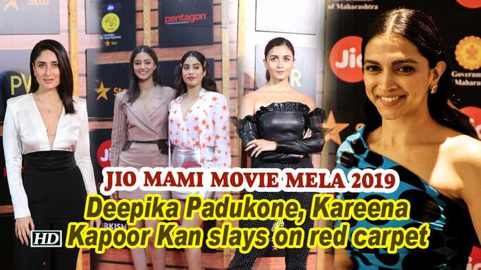 Jio MAMI Movie Mela 2019 | Deepika Padukone, Kareena Kapoor Kan slays on red carpet