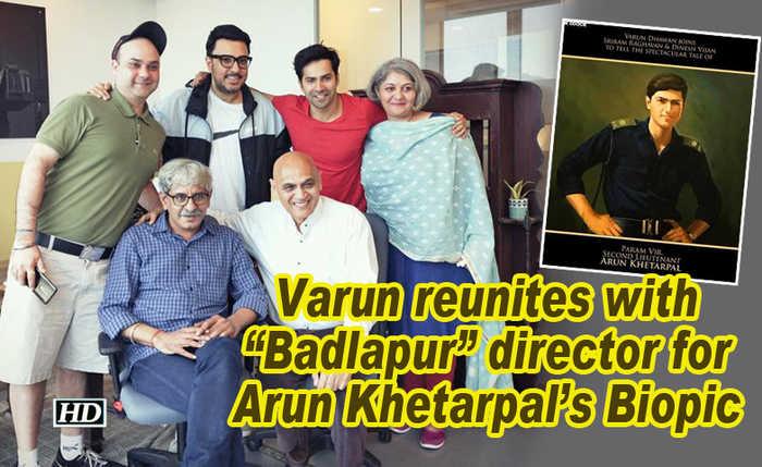 Varun Dhawan reunites with