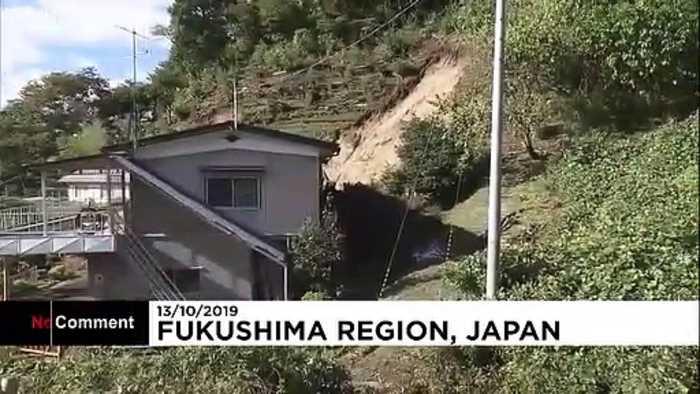 Japan rescue crews search for typhoon survivors