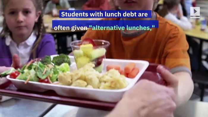 School 'Lunch Shaming' Is Outlawed by CA Law