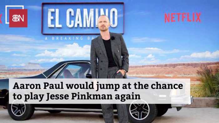 Aaron Paul After The Latest 'Breaking Bad' Movie