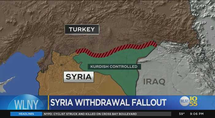 Critics Upset With American Troop Withdrawal In Syria