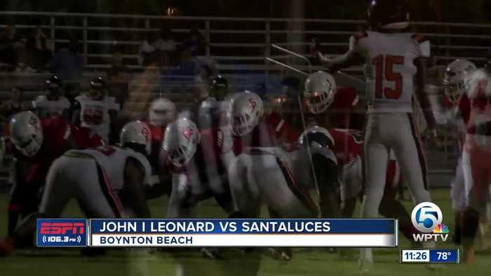 John I Leonard vs Santaluces