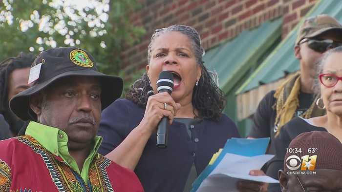 Protestors Gather In Fort Worth Following Shooting Death Of Atatiana Jefferson