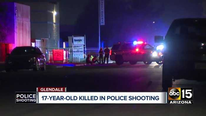 Glendale police respond to illegal party; Man fatally shot