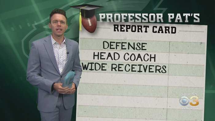 Professor Pat's Report Card: Eagles Vs. Vikings
