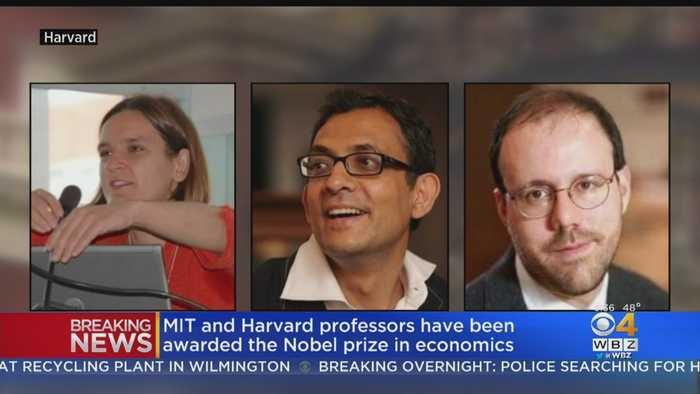 MIT, Harvard Professors Share Nobel Prize In Economics