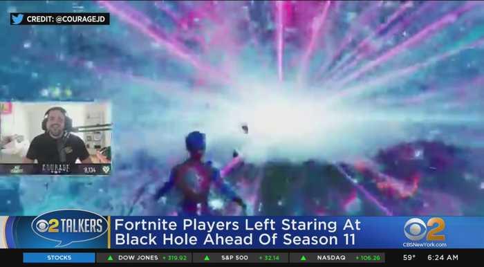 Fortnite Season Ends With Blackhole