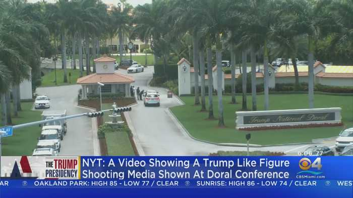 NY Times: Violent Parody Video Shown At Trump Resort