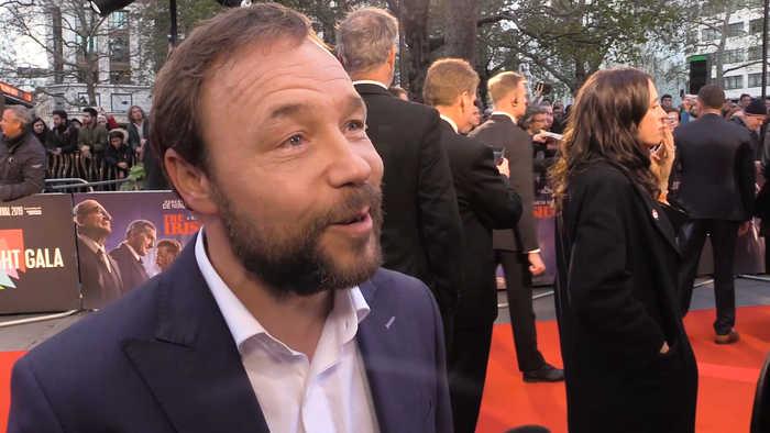 Stephen Graham shares what a joy it was to work with Robert De Niro, Al Pacino, Harvey Keitel and Joe Pesci