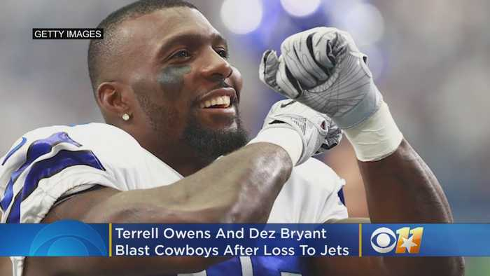 'Same Old Song And Dance': Former Cowboys Receivers Terrell Owens, Dez Bryant Blast Team After Jets Loss