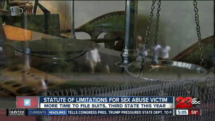 New law gives victims more time to file suits for alleged sex abuse