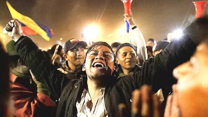 Ecuador government agrees to return fuel subsidies