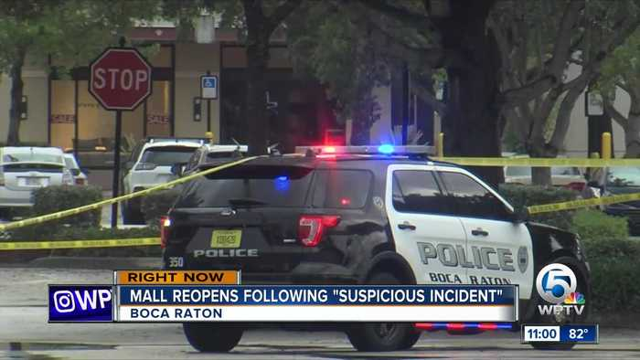 11 A.M. UPDATE: Incident at Town Center Mall in Boca Raton