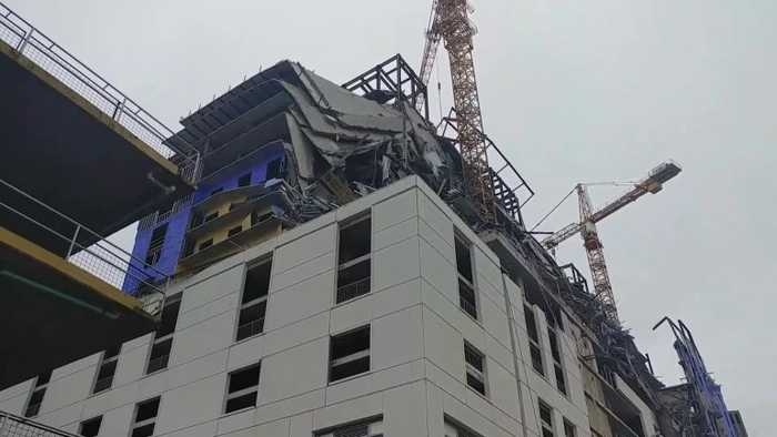 Hard Rock Hotel Construction Site Collapses
