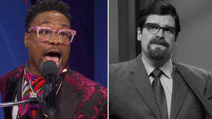 'SNL' Rewind: David Harbour Pokes Fun at 'Stranger Things' Role, Billy Porter Makes Cameo   THR News