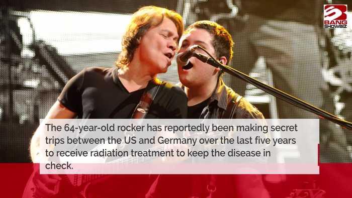 Eddie Van Halen has throat cancer