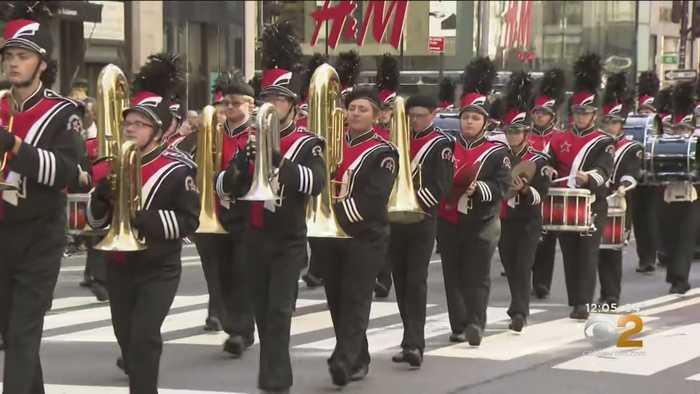 Annual Columbus Day Parade Rolls Through New York City