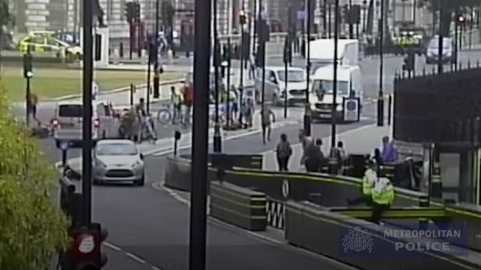 Terrorist who tried to kill cyclists and police outside Parliament jailed