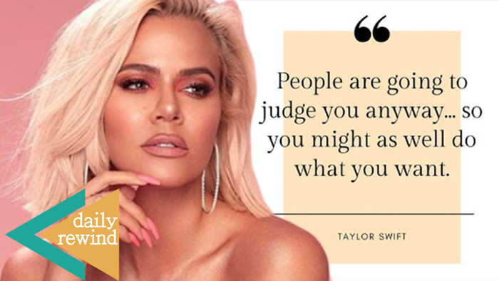 Khloe Kardashian Become A SWIFTIE, Posts Taylor Swift Quotes For #MondayMotivation! | DR